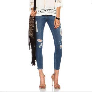 Frame le skinny de jeanne ankle jean Size 25